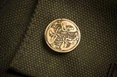 Il celtico insegue il distintivo immagini stock libere da diritti