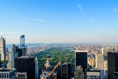 Il Central Park di New York Fotografie Stock