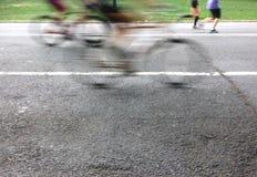Il Central Park in New York è centro sportivo principale Fotografie Stock