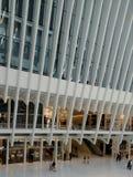 Il centro commerciale al World Trade Center Fotografie Stock
