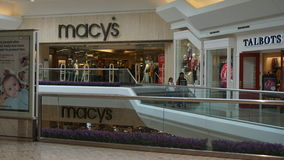 Il centro commerciale alle brevi colline nel New Jersey immagine stock libera da diritti