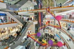Il centro commerciale del centro di Nevsky Immagini Stock