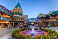 Il centro commerciale della curva Damansara Fotografia Stock