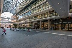 Il centro commerciale di Berlino Fotografie Stock