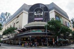 Il centro commerciale di Myer Centre a Brisbane centrale, Australia fotografie stock libere da diritti