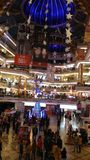 Il centro commerciale Udaipur Ragiastan di celebrazione la grande vista Fotografia Stock Libera da Diritti