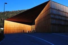 Il centro congressi di Tavate, città del ` s di Europa più alta nello svizzero fotografia stock