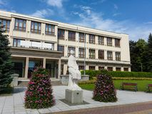 Il centro culturale di Petr Bezruc, Havirov, repubblica Ceca/Cechia Immagini Stock Libere da Diritti