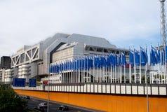 Il centro del congresso di Internationales a Berlino fotografia stock libera da diritti