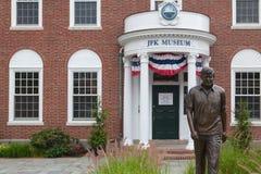 Il centro del John F Kennedy Hyannis Museum Immagine Stock