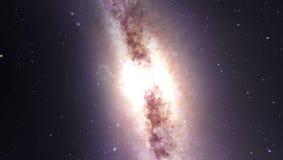 Il centro della galassia e va via royalty illustrazione gratis