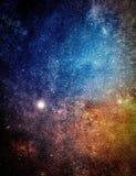 Il centro della Via Lattea fotografia stock