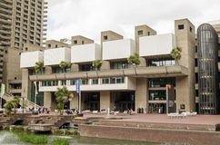 Il centro di arti del barbacane, città di Londra Immagini Stock Libere da Diritti