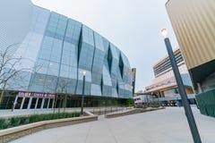 Il 1 centro dorato famoso Immagine Stock
