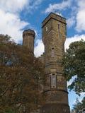Il centro rampicante del castello, costruzione vittoriana a Londra, Regno Unito immagine stock libera da diritti