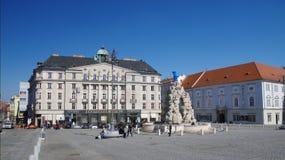 Il centro urbano Brno il 30 aprile 2016 Brno è la città secondo più esteso in repubblica Ceca Fotografia Stock