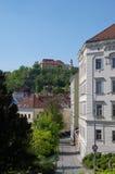 Il centro urbano Brno il 30 aprile 2016 Brno è la città secondo più esteso in repubblica Ceca Fotografie Stock