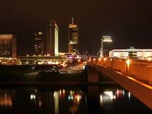 Il centro urbano di Vilnius Fotografia Stock