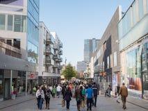 Il centro urbano moderno di Almere, Paesi Bassi Immagine Stock Libera da Diritti