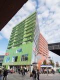 Il centro urbano moderno di Almere, Paesi Bassi Fotografie Stock