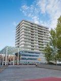Il centro urbano moderno di Almere, Paesi Bassi Immagini Stock Libere da Diritti