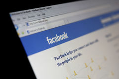 Il CEO il M. Zuckerberg di Facebook supera Vanity Fair 100 Fotografia Stock Libera da Diritti
