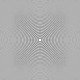 Il cerchio allinea il modello Geometrico astratto illustrazione di stock