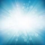 Il cerchio Rays il fondo Immagini Stock Libere da Diritti