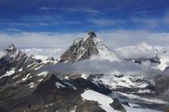 Il Cervino, alpi svizzere, Zermatt, Svizzera Fotografia Stock