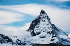 Il Cervino - la Svizzera Immagini Stock Libere da Diritti