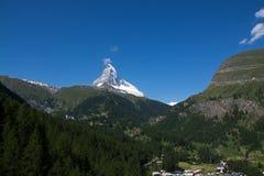 Il Cervino, Valais, Svizzera Fotografie Stock