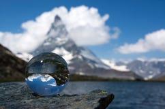 Il Cervino, Valais, Svizzera Immagini Stock Libere da Diritti