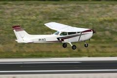 Il Cessna Skyhawk Immagine Stock