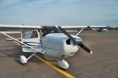 Il Cessna 172 Skyhawk Fotografia Stock Libera da Diritti