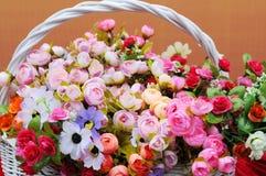 Il cestino del fiore Immagine Stock Libera da Diritti