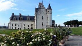 Il Château reale a Amboise è un château situato a Amboise, nel département dell'Indre-et-Loire del Loire Valley in Francia immagine stock