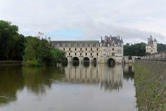 Il Château de Chenonceau fotografie stock libere da diritti