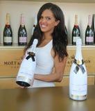 Il champagne di Chandon e di Moet ha presentato al centro nazionale del tennis durante l'US Open 2016 Immagini Stock