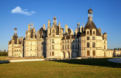 Il Chateau de Chambord reale, Francia Immagine Stock Libera da Diritti