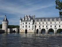 Il chateau de Chenonceau. Loire Valley. La Francia Fotografia Stock Libera da Diritti