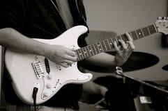 Il chitarrista! Fotografia Stock Libera da Diritti