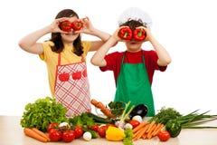Il cibo sano è GIUSTO Fotografia Stock Libera da Diritti