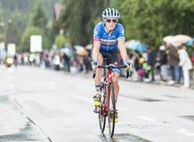 Il ciclista Benjamin King fotografie stock