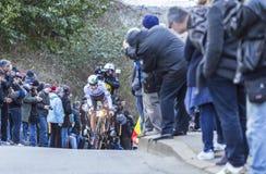 Il ciclista Daryl Impey - 2016 Parigi-piacevole Fotografia Stock
