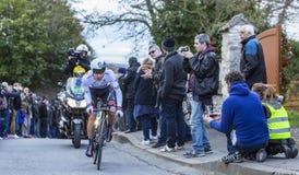 Il ciclista Daryl Impey - 2016 Parigi-piacevole Fotografie Stock