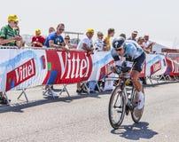Il ciclista Gert Steegmans Fotografie Stock