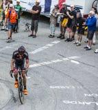 Il ciclista Jan Barta - Tour de France 2015 Immagine Stock Libera da Diritti