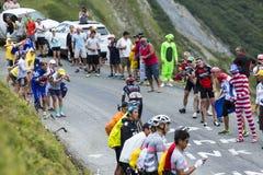 Il ciclista Jarlinson Pantano - Tour de France 2015 Immagine Stock