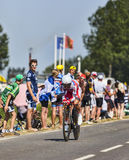 Il ciclista Joaquim Rodriguez Oliver Fotografie Stock