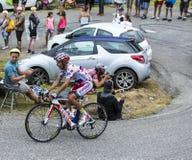 Il ciclista Joaquim Rodriguez - Tour de France 2015 Immagini Stock
